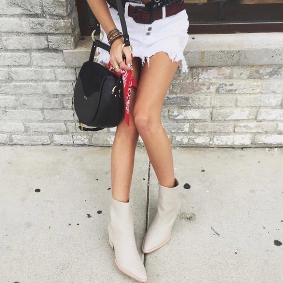 Matisse Shoes | Matisse White Booties